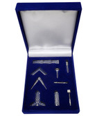 Working Tools Masonic Gift Set for Freemasons - Miniature Tools from the first, second and third degrees of symbolism