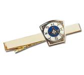 Masonic Mark Master Keystone Tie Clip / Tie Bar - Gold Color with Royal Arch Freemasons Symbol