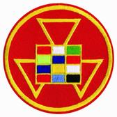 Past Master Freemasons Keychain Spinner cut out Masonic Icon Masonic Gifts.