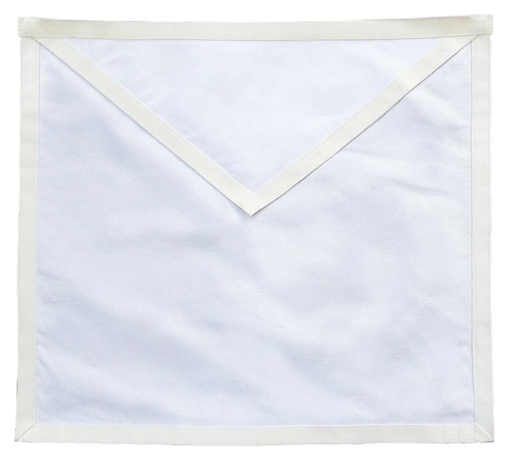 Masonic Aprons - Candidate / Entered Apprentice Apron for Lodge Plain White  Duck Cloth Apron For Freemasons  Masonic Lodge Regalia and Merchandise