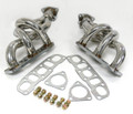 Header 93-97 Supra 2JZGE Naturally Aspirated, 3-1, 2-O2 Bungs, 1pc.