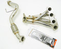 OBX Stainless Steel Header For 2007-2012 Nissan Sentra SE-R Spec-V 2.5L QR25DE