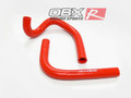 OBX Silicone Radiator Hose Kit 86-92 Toyota Supra 7M-GE / GTE Red