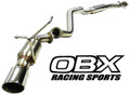 OBX Cat Back Exhaust Fits 11 12 13 14 Nissan Juke AWD 1.6L Turbocharged MR16DDT