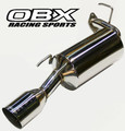 OBX Axle Back Exhaust For 1993 1994 1995 1996 1997 Toyota Corolla 1.8L