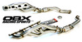 OBX Long Tube D-Port Header For 12-19 Jeep Grand Cherokee WK2, 18-19 Dodge Durango SRT  6.2L 6.4L