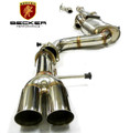 Becker Turbo Back Exhaust For 2006 2007 2008 2009 VW Jetta GLI 2.0T MK5