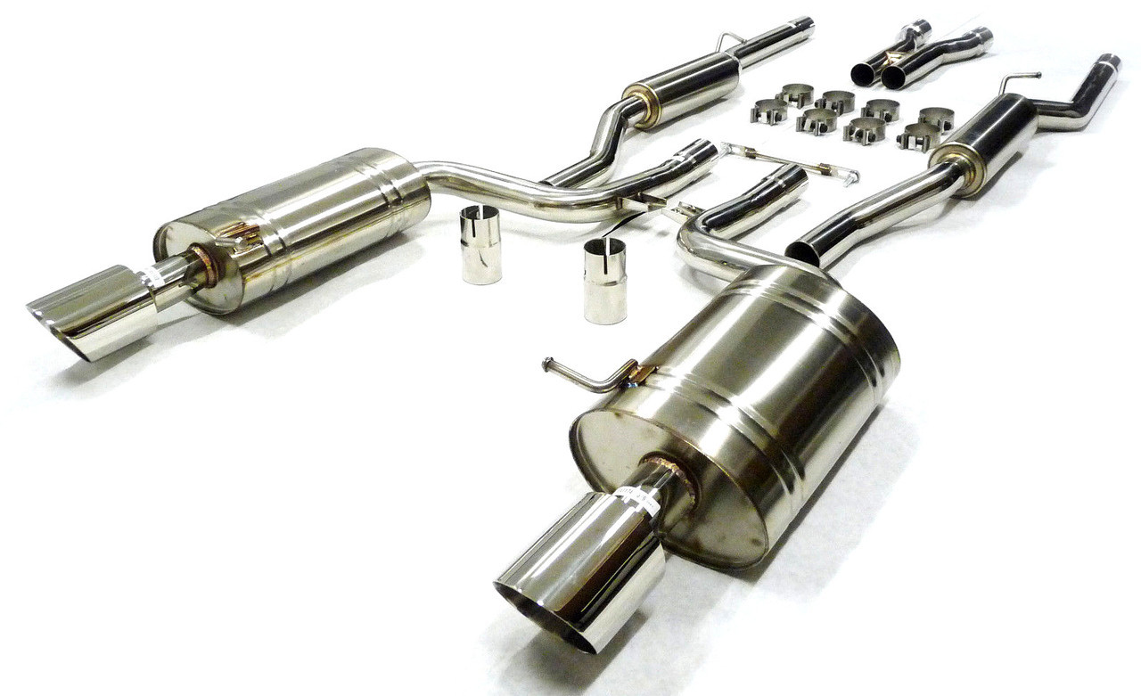Exhaust System Kit Fits 2004-2008 Saab 9-5 Turbo