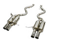 OBX Racing Sports Axleback Exhaust For 2007-2013 BMW M3 4.0L / 4.4L V8 2PCS