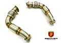 Becker Performance Stainless Down Pipe For 13-19 BMW X5 X6 4.4L V8 N63 F Chassis