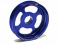 OBX Blue Crank Pulley for 03-07 Honda Accord, 02-04 Acura RSX Type-S, 04-08 TSX