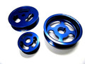 OBX Blue Underdrive Power Pulley For Honda Accord CR-V Acura RSX Type S TSX