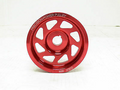 OBX UD CRANK PULLEY Fits 1994 thru 2007 LEGACY FORESTER BAJA SVX Red