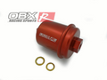 OBX Red Fuel Filter for 94-01 Acura Integra, 94-97 Honda Accord, 96-00 Civic