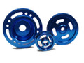 OBX Blue Overdrive Pulley Fits 1995 thru 1999 Talon TSi Eclipse GST GSX 4G63T