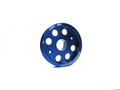 OBX Anodized Blue Underdrive Crank Pulley For 2007-2014 Suzuki SX4 2.0L I4 (1pc)