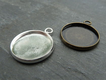 Shallow 20mm Pendant/Charm Trays