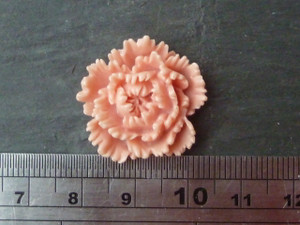 Bright Resin Flowers 25mm