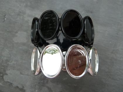 Acrylic Oval Bracelet 18x25mm