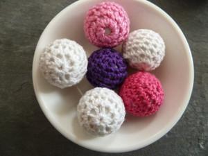 Crochet Beads 23mm