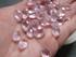 Light Pink Glass Briolettes 12x8mm
