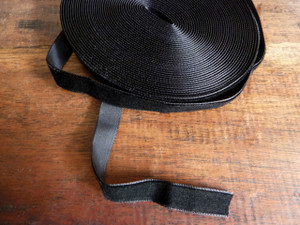 Black Velvet Ribbon Trim 12mm