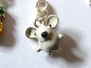 Mouse Clip-On Charm