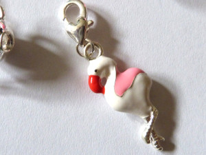 Flamingo Clip-On Charm