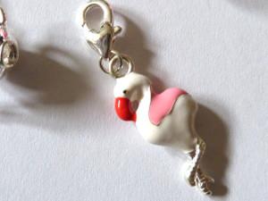 Flamingo Clip-On Charm