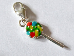 Lollipop Clip-On Charm