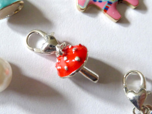 Toadstool Clip-On Charm