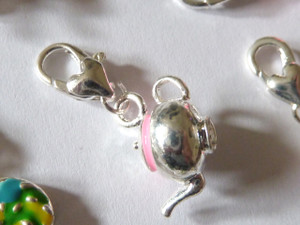 Teapot Clip-On Charm