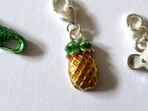 Pineapple Clip-On Charm