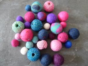 Felt Mix Beads