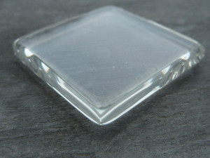 Crystal Clear Square Glass Tiles 35x35mm