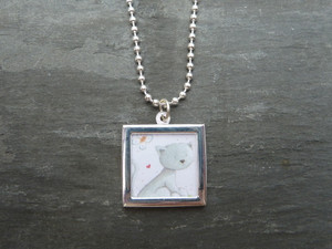 Photo Frame Pendants - Squares 18mm