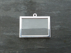 Photo Frame Pendants - Rectangles 30x20mm