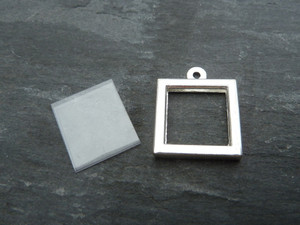 Photo Frame Pendants - Little Squares 12mm