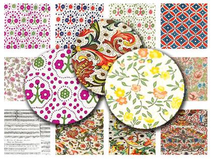 Italian Artisan Paper - 10x10cm Piece