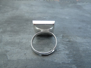 Square Ring Blanks 16mm