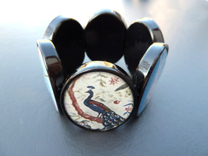 Acrylic Large Oval Bracelet 30x40mm