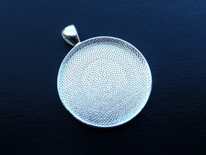 30mm Round Pendant Trays