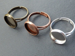 Ring Blanks for 12mm Cabochon