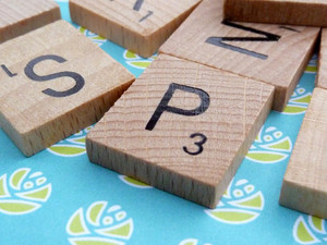Pick your Own Letter Tiles - Just like Scrabble!