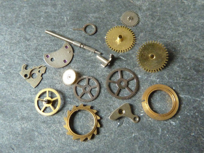 Watch Parts for Steampunk Jewellery