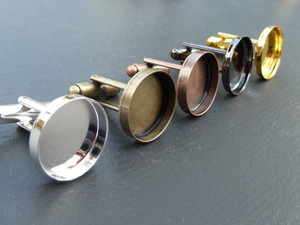 Cufflinks with 16mm Cup