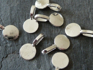 Savvy Crafter Silver Tone Value Bails