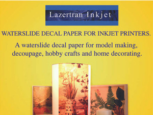 Lazertran Inkjet Waterslide Decal Paper