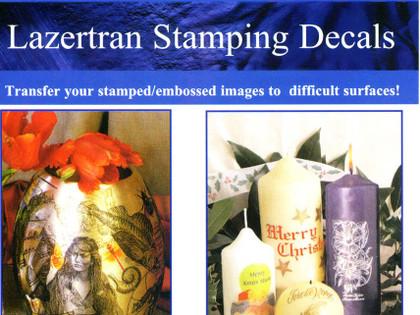 Lazertran Stamping Decals