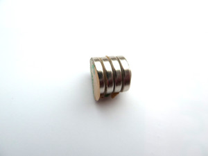 Self-Adhesive Strong Magnets - Round 10x2mm